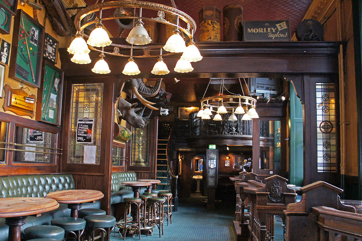 The Old English Pub Live musik